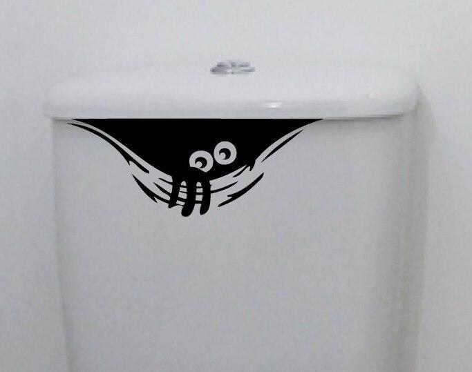 3D мультфильм водонепроницаемый автомобиля стикеры стены смешные наклейки Туалет wc для гостиной комнатой Спальня винил ПВХ стены украшения