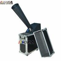 1 pçs/lote stage co2 efeito de estágio da máquina confetti canhão de confete blaster jato de co2 controle da mão 10 m embalagem caso do Vôo