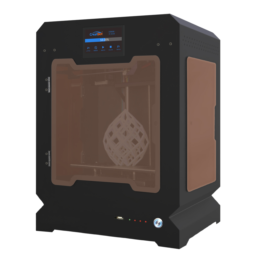 Impresora 3d extrusora de alta velocidad de impresión de 160*160*200mm creatbot