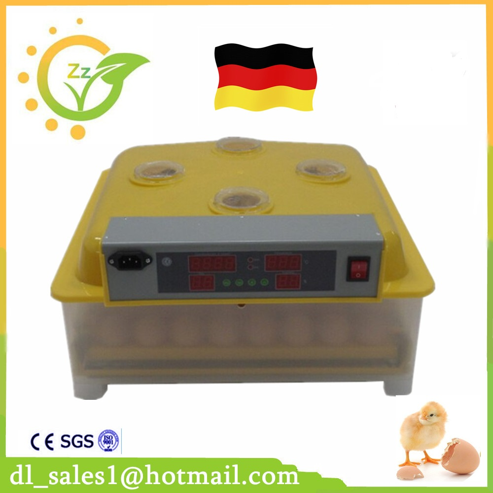 Best sale China cheap brooder Poultry Egg Incubator 48 machines for Hatching eggs ZZ-48 small chicken poultry hatchery machines 48 automatic egg incubator 220v hatching for sale