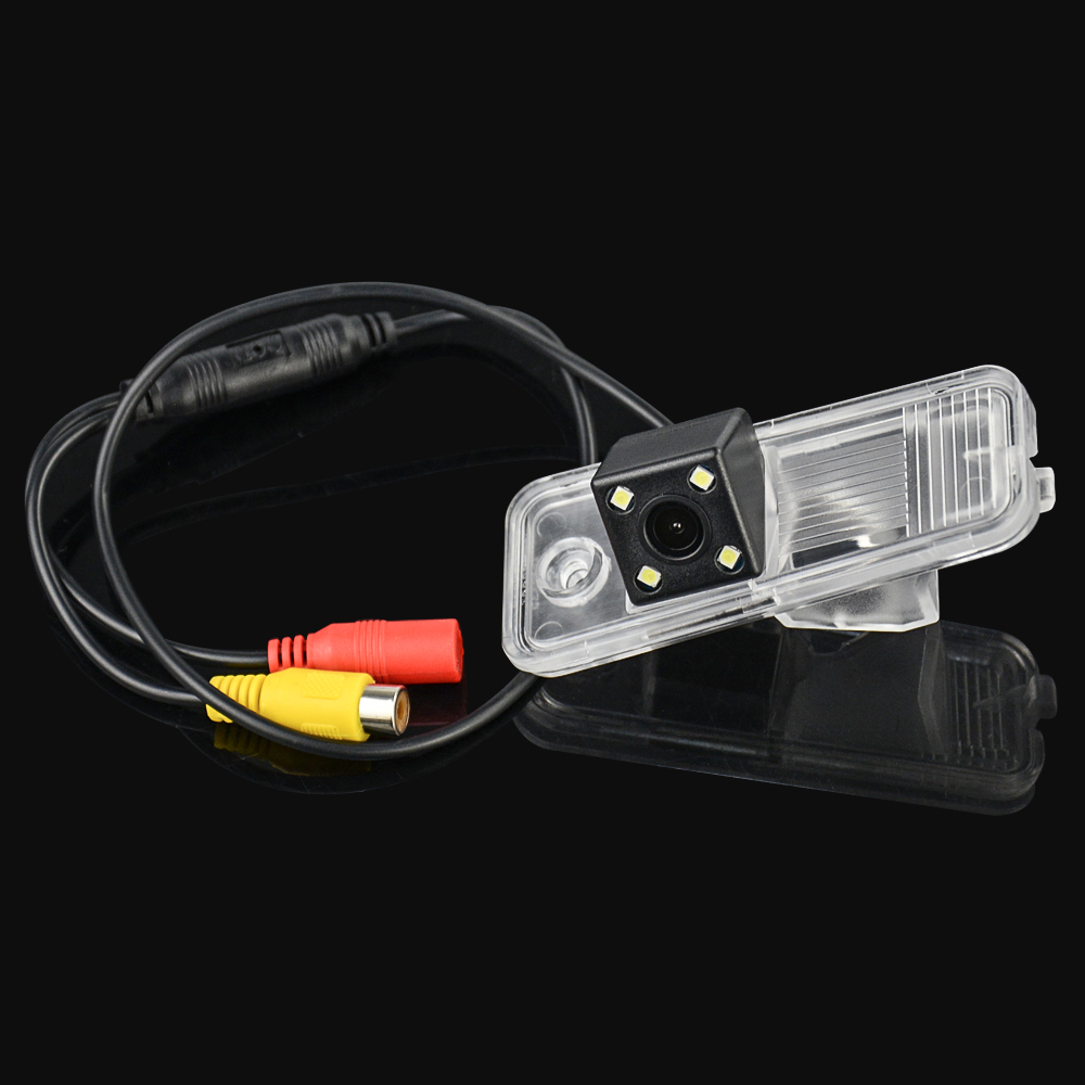 EKIY HD CCD 4 LED Car Rear View Camera For Hyundai Creta IX25 Auto Reverse Backup Camera Parking Camera Waterproof Wide Angle