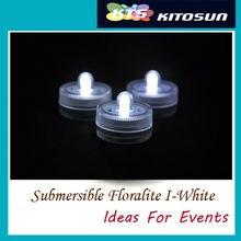 DHL&Fedex 120pcs Waterproof LED Candle Wedding Decor Submersible Floralyte LED Tea Lights Party Decoration Floral Light