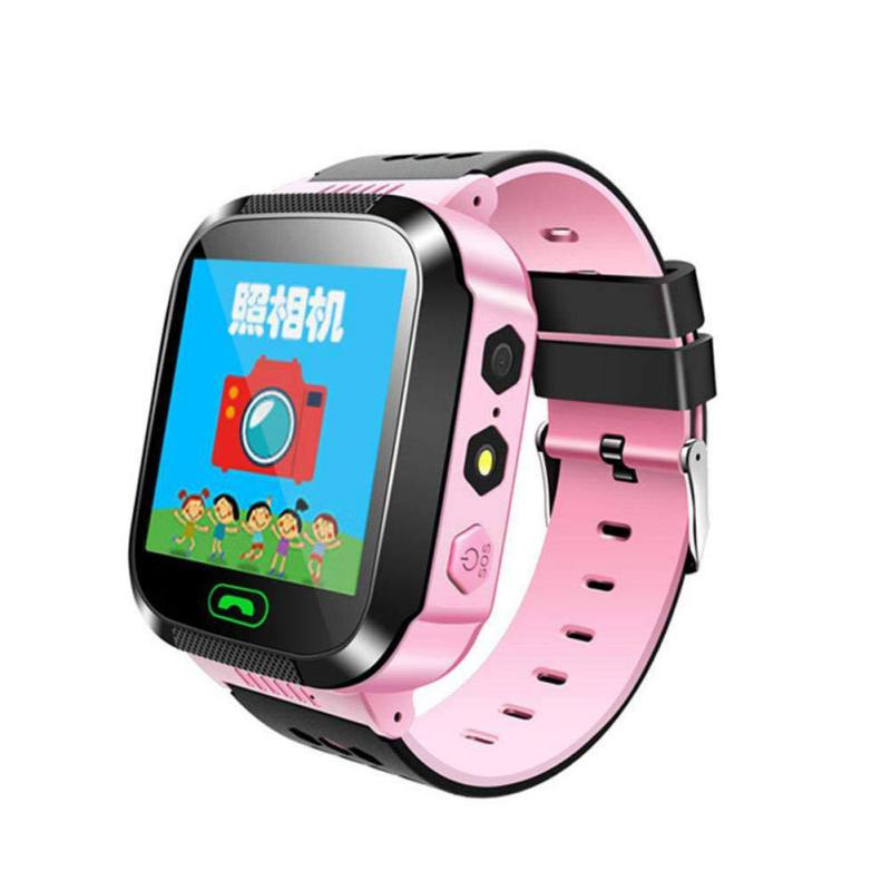 2019  Kids  Smart Watch Smartwatch With Touch Screen Camera Wristwatch GPS Locator SOS Call Anti Lost English Russian Language