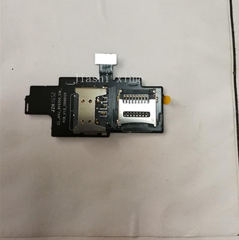 imágenes para Para Blackview BV6000 Tarjeta SIM ranura de la placa de circuito de Reparación de piezas Para Blackview BV6000 Smartphone Envío Libre + Número de Pista