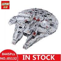 В наличии H & HXY 8445 05132 шт. Star Ultimate Лепин коллекционные войны модель Разрушитель Строительные кирпичи детей Рождество игрушечные лошадки 75192