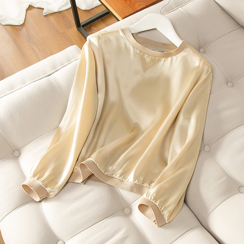 100% Long Top silk