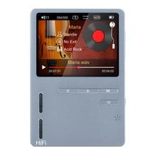 Original ONN X6 Hifi MP3 High Resolution Audio Player with HD Screen FM Radio Bass Speaker Build in Speaker Voice Recorder Music