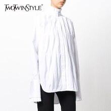moda blusas Twotwinstyle topos