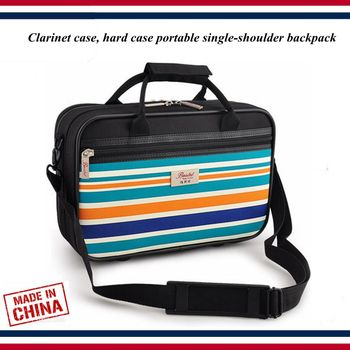 Clarinet accessories - Clarinet case - Clarinet bag, hard case portable single-shoulder backpack - Clarinet parts фото