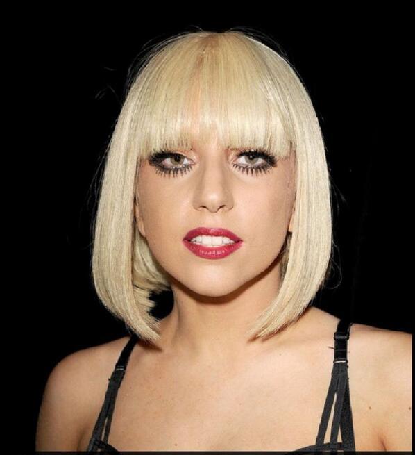 HOT-sell-Short-Fashion-Blonde-Lady-Gaga-