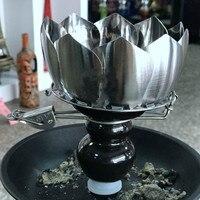 1 Pc Shisha Hookah Metal Head Bowl Charcoal Holder Charcoal Burner Smoke Bowl Hookah Pot Smoke
