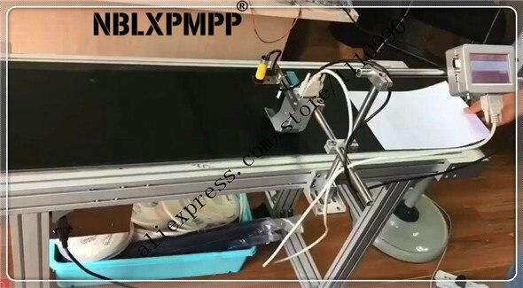 NINGBO LUOXIN NBLXPMPP Le Plus Bas Prix Usine Plus Haute Qualité Bouteille Tuyau Carton Codage Marquage Machine Date Codeur Jet D'encre Imprimante