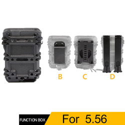 Tactische Magazine Pouch 5.56. 223 Mag Carrier met Molle/Riem Fast Bevestig Millitary Molle Quick Release Single Pouch Holster