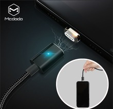 MCDODO Type-c Magnetic Cable Fast Charging 2.4A Charging Wire Cord USB Type C For Samsung Xiaomi Huawei Data Sync USB C Phone