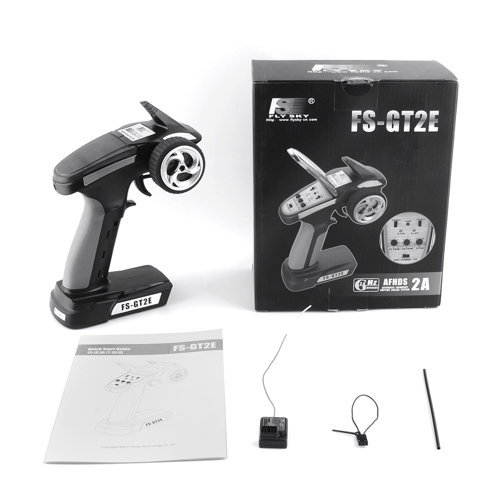 Fly Sky FS-iT4S GT2E GT3B GT3C GT2B GT2 GT3C 2.4GHz 4CH 2Gun AFHDS RC Radio System Transmitter Controller with Touch Screen
