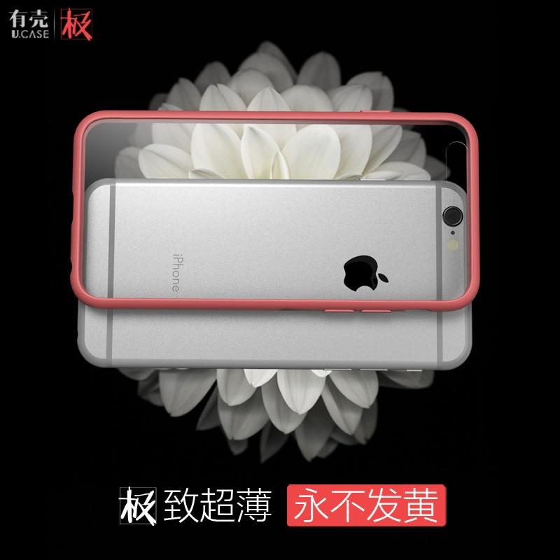 funda de silicona transparente para iphone6 para iphone6s (4.7) - Accesorios y repuestos para celulares - foto 2