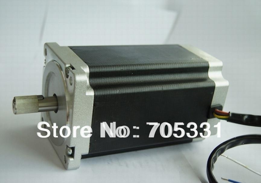 все цены на 1 pc Nema 34 stepper motor with 12N.m(1715oz-in), 4.2A, 8wires, shaft diameter 12.7mm, 156mm motor length CNC PALSMA,CE,ROHS,ISO