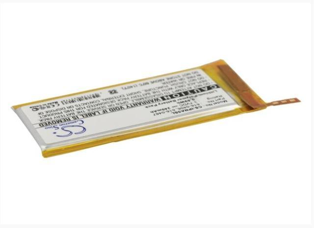 Cameron Sino 240mAh battery for APPLE iPod Nano 5th 616-0406 616-0467 P11G73-01-S01 MP3, MP4, PMP Battery