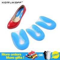 FromUfoot 100 Silicone Gel U Shape Plantar Fasciitis Heel Protector Heel Spur Cushion Pad Shoe Inserts