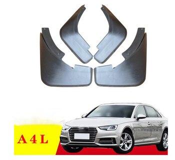 4 pcs specia สำหรับ Audi A4L 2009-2012 2013-2017 A4L AUTO Mudguards รถ fender Mud Flaps Mudflaps