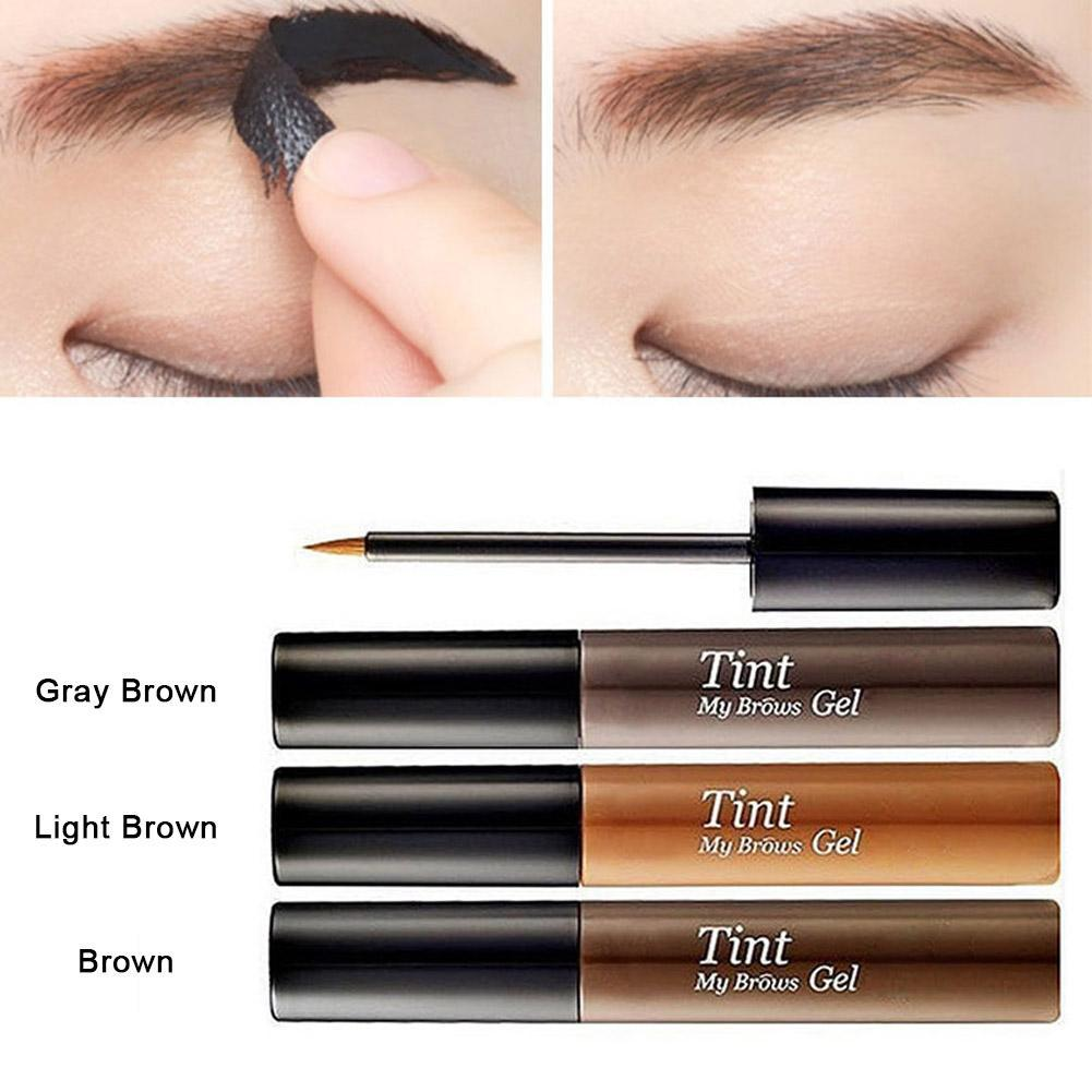 3 Color Long Lasting Peel Off Eyebrow Tint Enhancer Waterproof