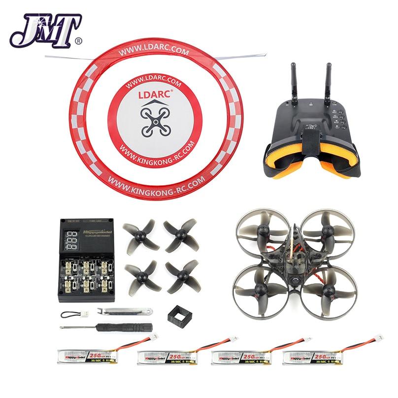 JMT Happymodel Mobula7 V2 75mm fou F4 Pro OSD 2S BWhoop FPV Drone de course Mobula 7 BNF avec FPV lunettes arc tablier