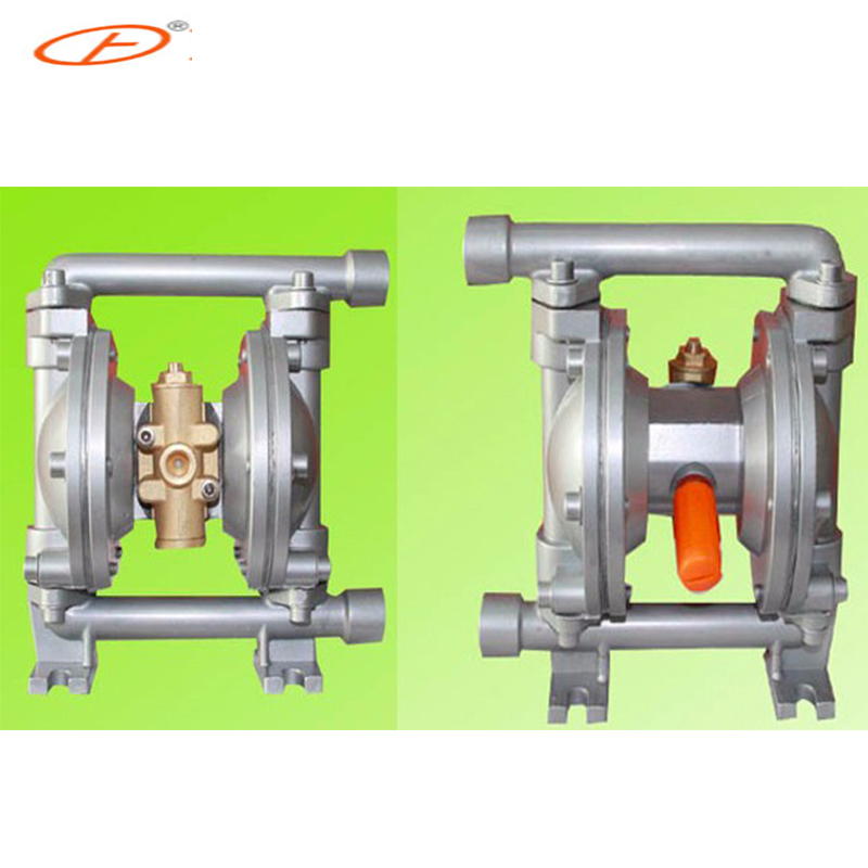 2017 Best Selling 1/4inch QBY-15 Aluminum pneumatic diaphragm pump with F4 diaphragm  цены
