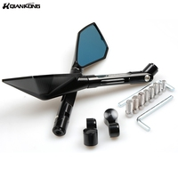 CNC Rearview Side Mirror Motorcycle Mirror Accessories CNC Aluminum For Honda CB CBR 300 599 600