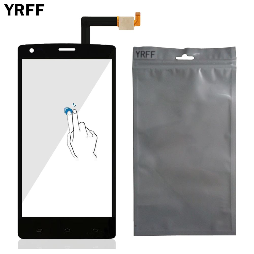 5.0 Front Glass Touch Screen Digitizer Panel Glass Sensor For Fly IQ 4505 IQ4505 Quad Era Life 7 Tools Protector Film Adhesive