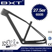 2018 Новый BXT горный велосипед с полностью карбоновой рамой рамка 27.5er кадров Карбон t800 углерода крепежная рама для горного велосипеда 27,5 Свер