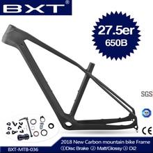 2018 Новый BXT полный Карбон mtb Рама 27.5er cadre carbone t800 карбоновая горная велосипедная Рама 27,5 супер легкая велосипедная Рама