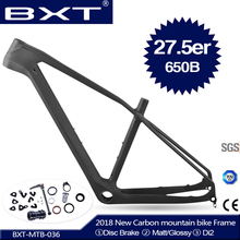 2018 NEW BXT full carbon mtb frame 27 5er cadre carbone t800 carbon font b Mountain