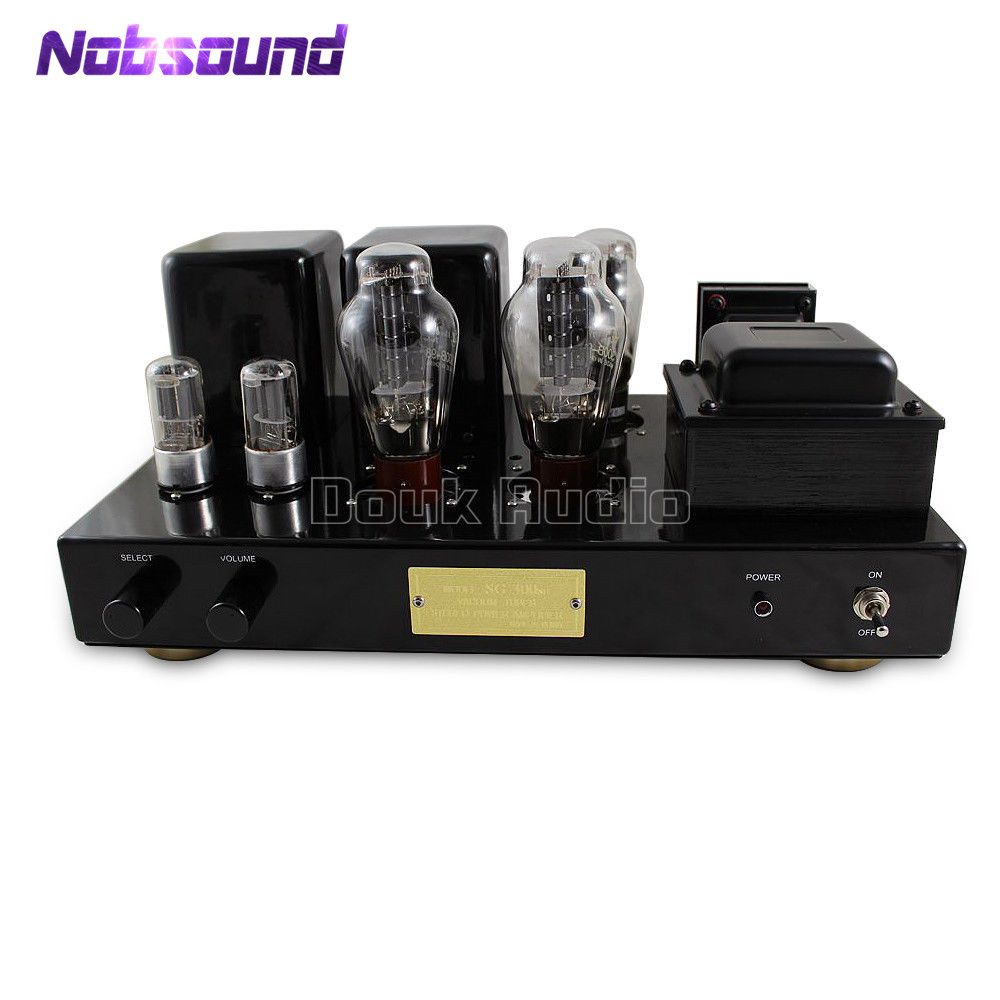 Nobsound Hi-end 300B Vacuum Tube Power Amplifier Stereo Class A Single-Ended Hi-Fi Integrated Valve Amplifier 8W+8W hi end 300b valve
