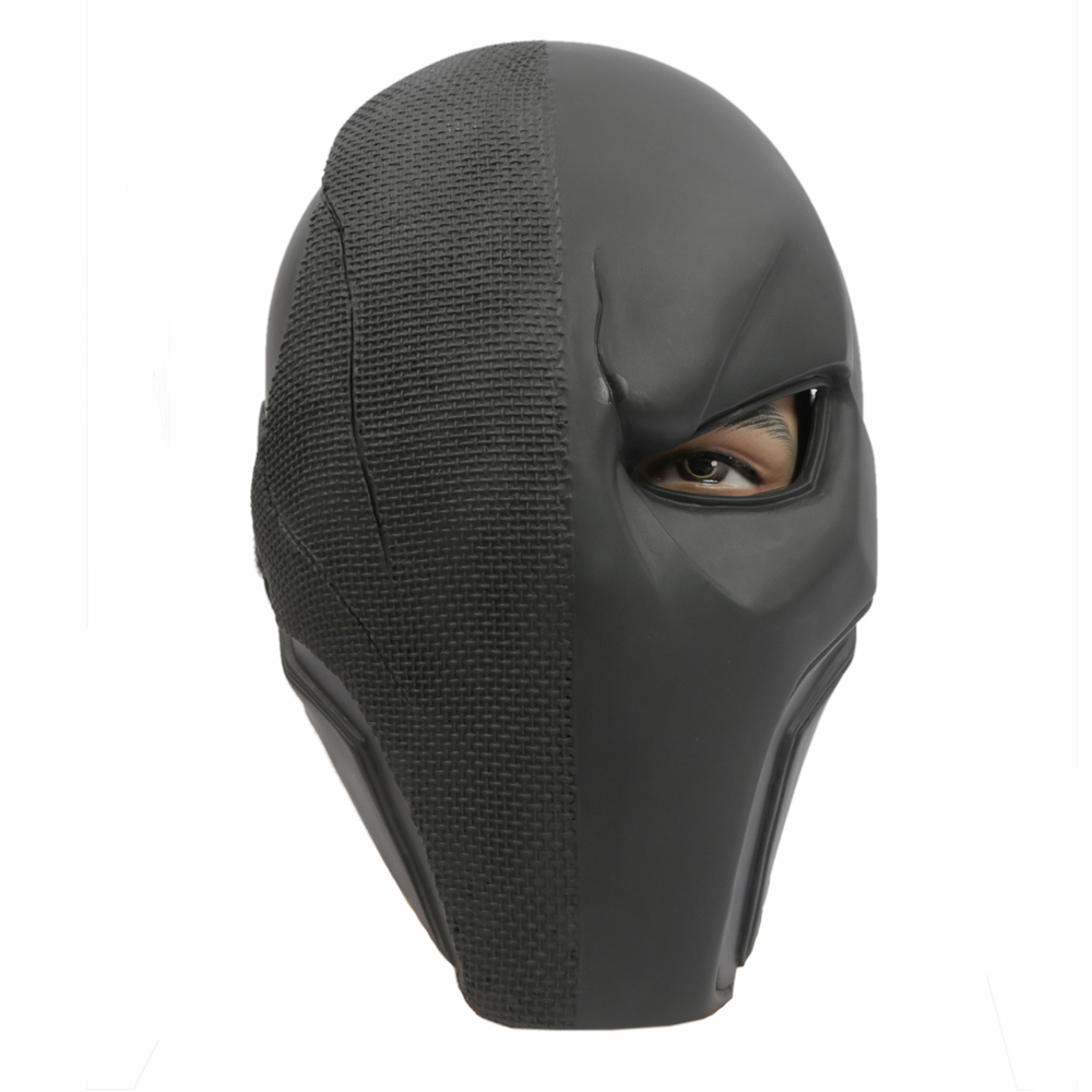 Coslive Batman Mask Deathstroke Cosplay Full Face PVC Halloween Mask Costume Accessories 2