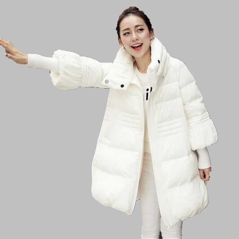 ФОТО 2016 Latest Spring Jacket Women Winter Coat Womens Clothing Medium Long Cotton Padded Slim warm Jacket Coat High Quality G2787