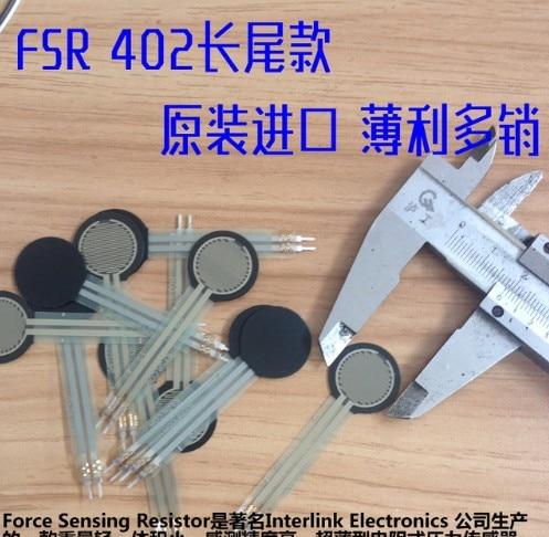 FSR402 Force Sensitive Resistor 0.5 inch FSR US Original For Arduino compatible Force Sensing Resistor Free Shipping