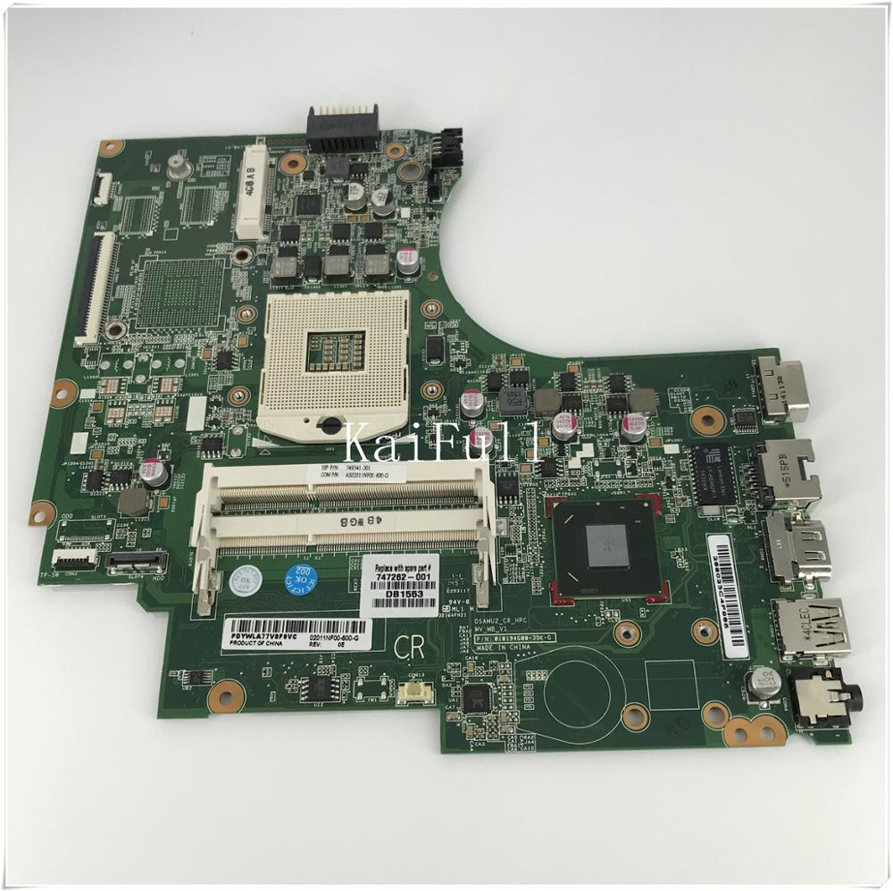 For HP 14-d 240 motherboard 747262-001 Intel CPU 100/% tested