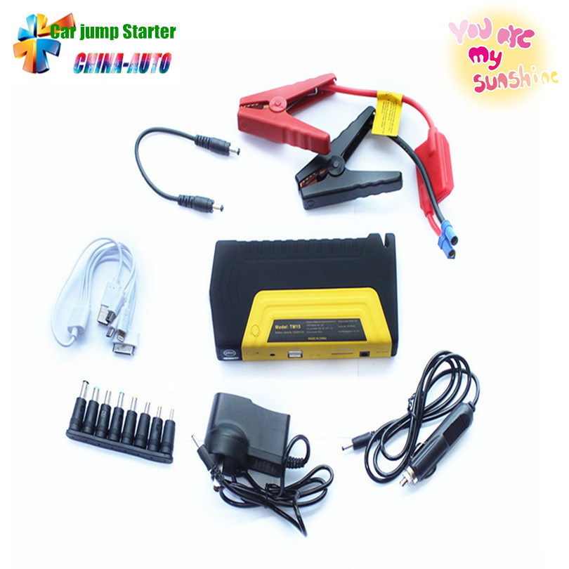 Mini Portabl Car jump starter engine booster car emergency jump starter car power bank charger for