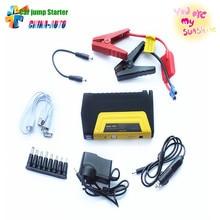 Mini Portabl Car jump starter engine booster car emergency jump starter car power bank charger for Mobile Phones Laptop