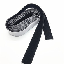 2cm/2.5cm 1pair 5yard Hook & Loop Strong Glue Self Adhesive Fastener Magic Tape Sticking Clothing&Shoes Accessories