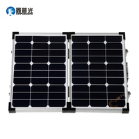 Xinpuguang Foldable High Efficiency 60W Solar Panel Kit Charge Battery USB Mobile Phones And Digital Camera Golf Car Outdoor
