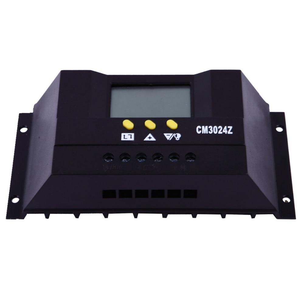 все цены на 30A 48V Auto Switch PWM Solar Charge Controller LCD Display онлайн