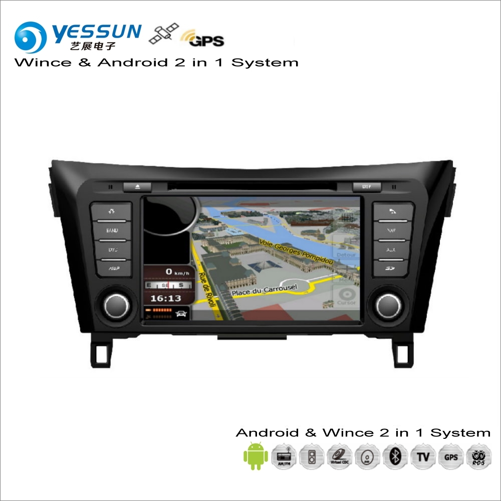 YESSUN For Nissan Qashqai 2012~2015 Car Android Multimedia Radio CD DVD Player GPS Navi Map Navigation Audio Video Stereo System for chevrolet silverado for gmc sierra car android multimedia radio cd dvd player gps navi map navigation audio video stereo