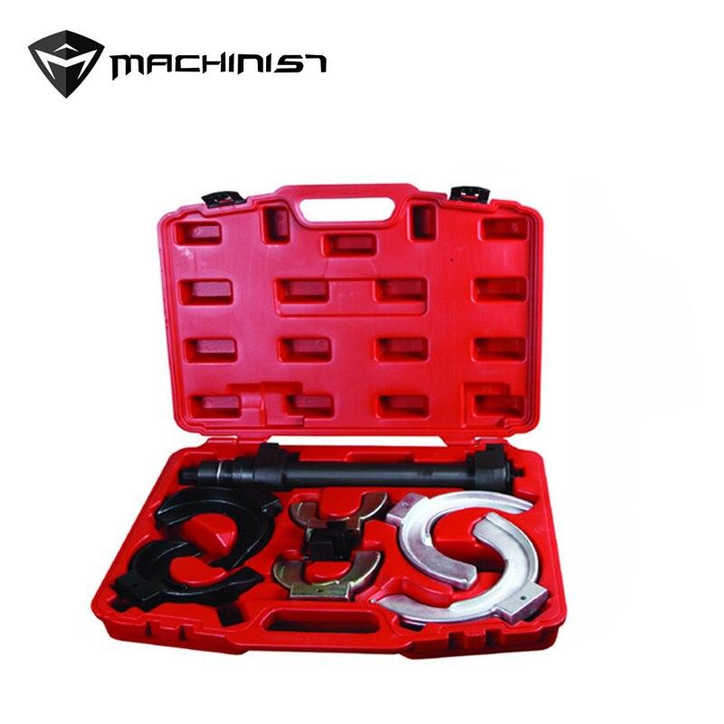 1 ensemble pas de démontage amortisseur ressort outil de compression dédié amortisseur outil de suppression portable métal boîte à outils