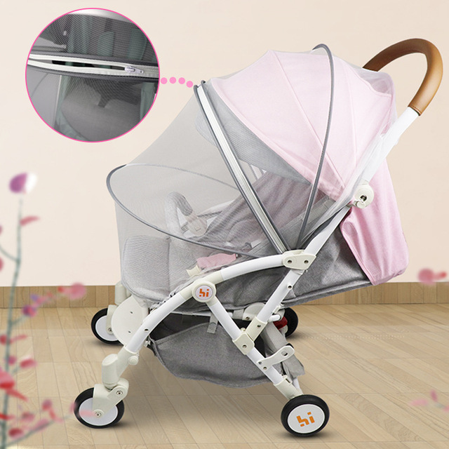Baby Stroller Mosquito Insect Net Accessories Safe Mesh Buggy Crib Netting Cart Mosquito Net Pushchair Full Cover