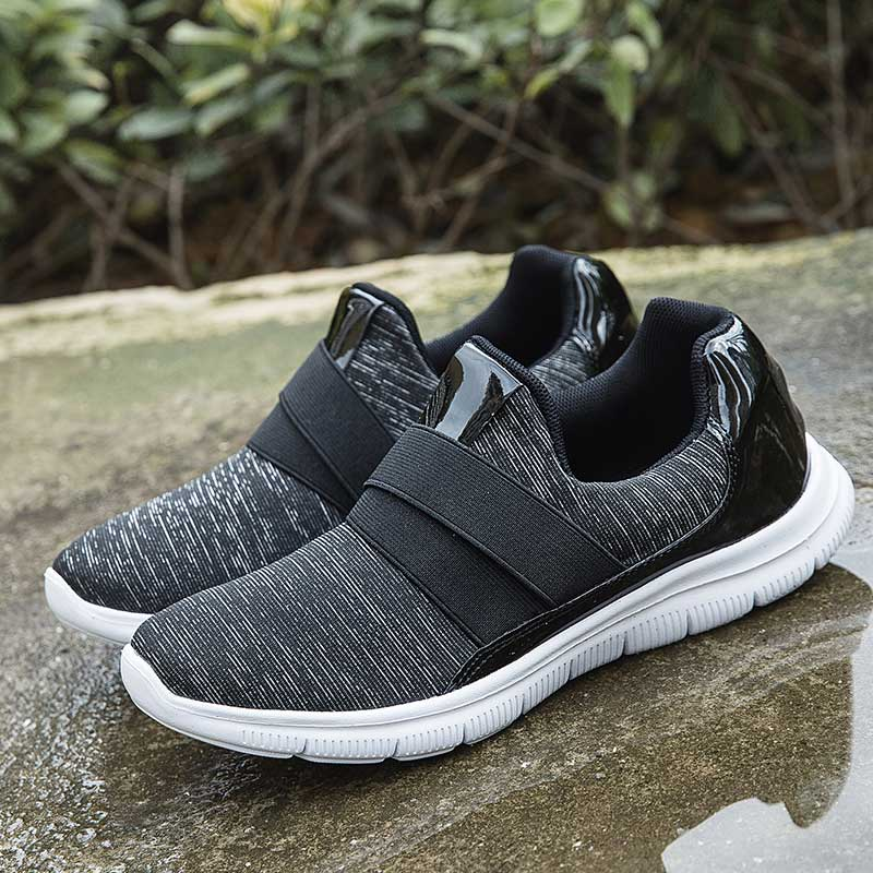 Silver Woman Sneakers Women Mesh Casual Shoes Ladies Black Breathable Lightweight Sneakers Female Sports Running Shoe 2019