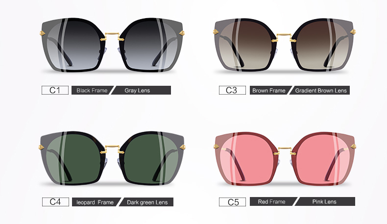 0dd3a3d87f8 AOFLY BRAND DESIGN 2018 Cat Eye Sunglasses Unique Frame Vintage Polarized  Sunglasses Female Goggles UV400 A123