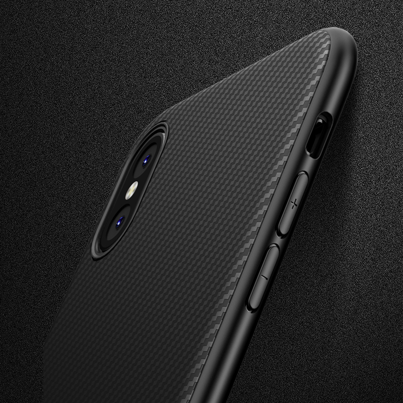 Carbon Fiber Case for iphone 6 iphone6s thin Slim Back Case for iphone 6S iphone 6 plus Silicon TPU Soft Black Cover Luxury iPhone