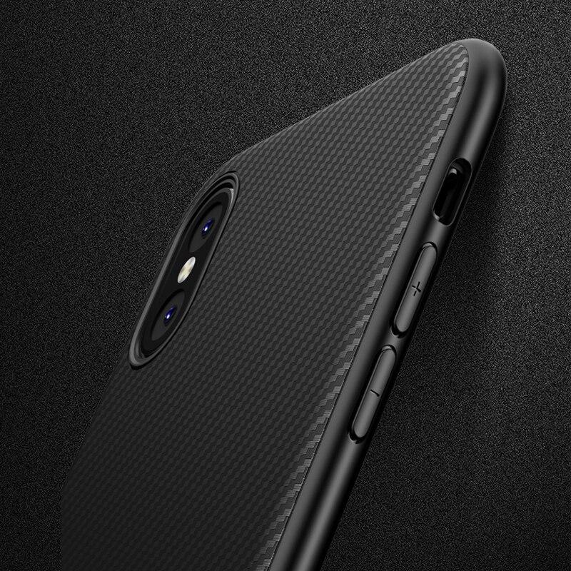 Carbon 7 Plus Iphone X 10 Iphone XR 8 Plus Silicon Cover Luxury Coque Iphone 7 Plus 6S 6 S Iphone XS Max Cases