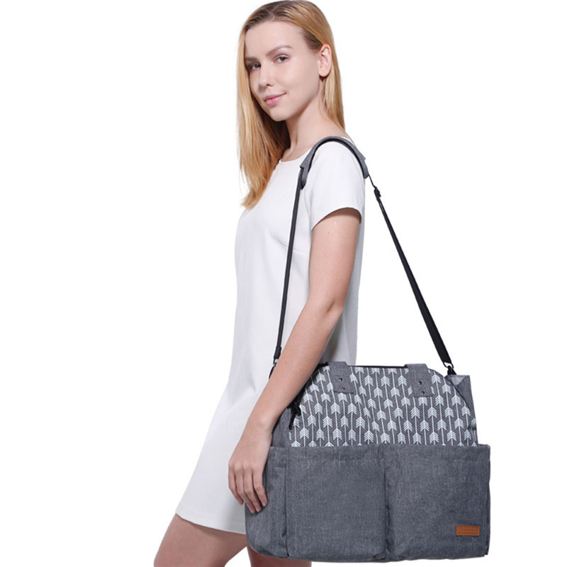 1PC Fashion Multifuctional Mummy Maternity Nappy Diaper Bag Baby Mummy Baby Bags For Mom Maternity Nappy